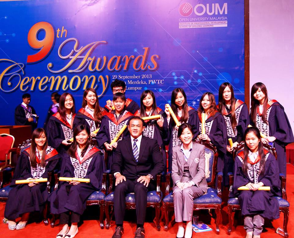 Open University Malaysia and House Of Groomers Academy Students 2013