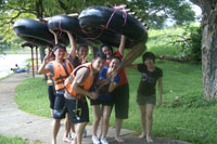 Team Building At A Famosa